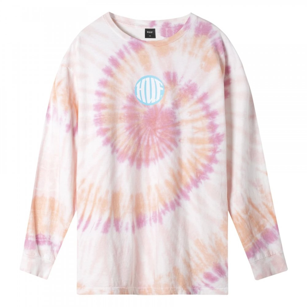 huf high definition long sleeve (ts00990-clpnk)