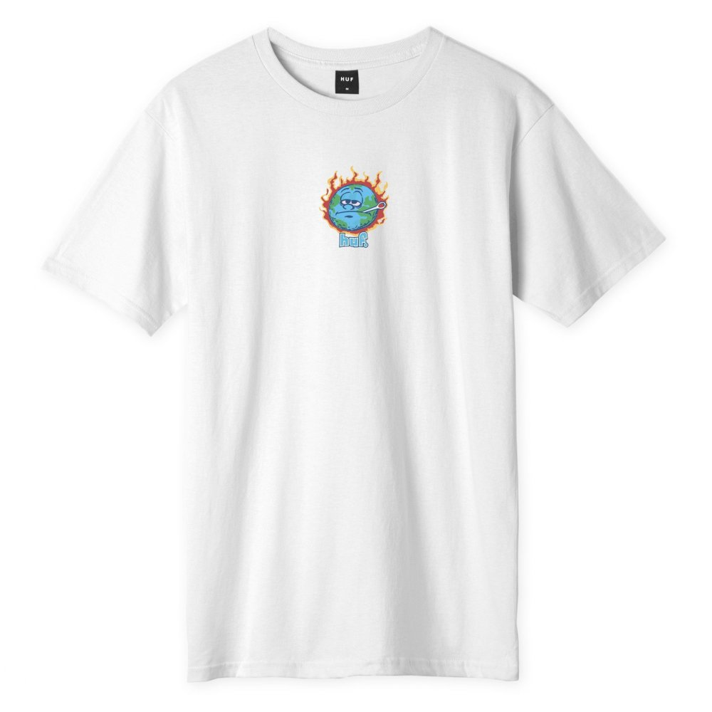 huf sick sad t-shirt (ts01180-white)