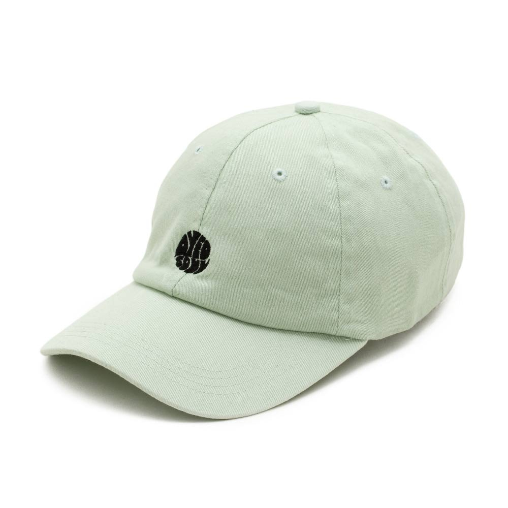 dad cap ws2 x instabaks 'dyed soul' pastel green