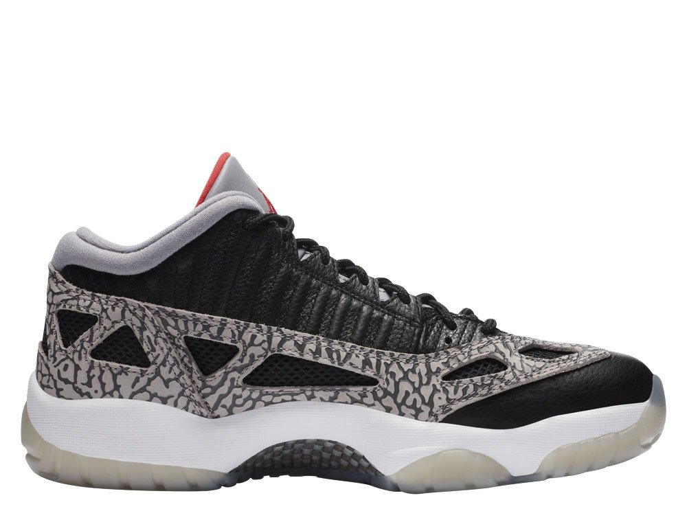 "air jordan 11 retro low ie ""black cement"" (919712-006)"