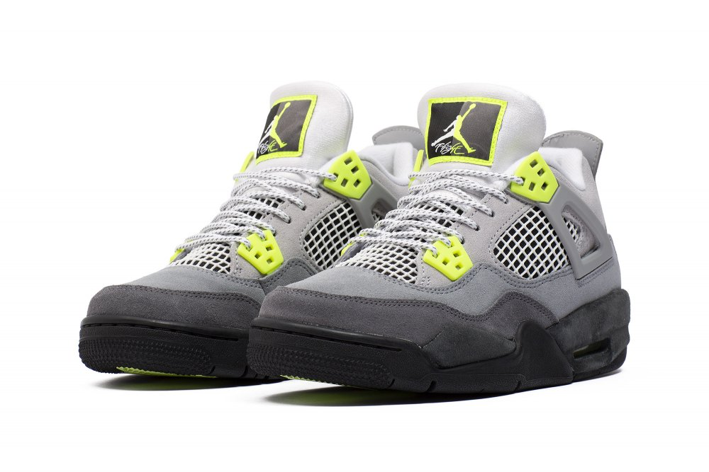 air jordan 4 retro se 'neon' (gs) (ct5343-007)