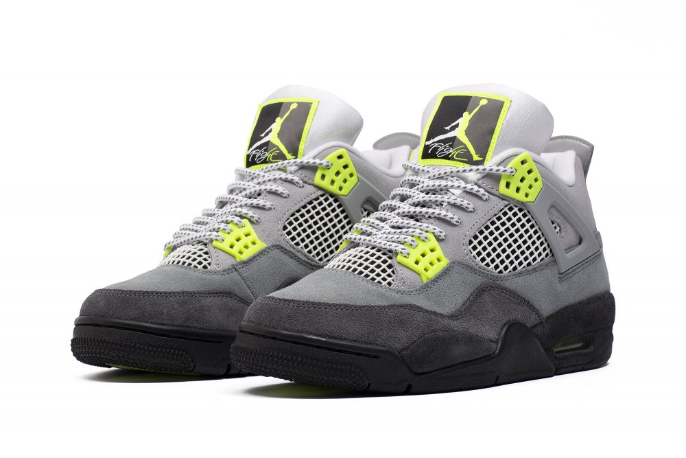air jordan 4 retro se 'neon' (ct5342-007)