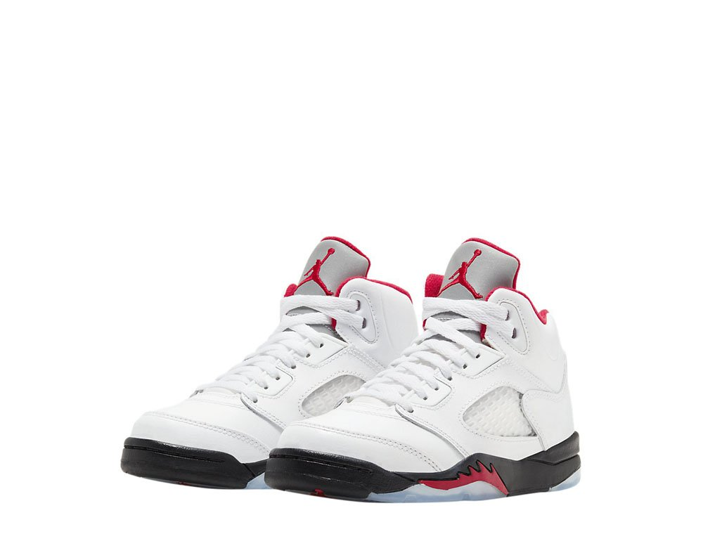 "air jordan 5 retro (ps) ""fire red"" (440889-102)"
