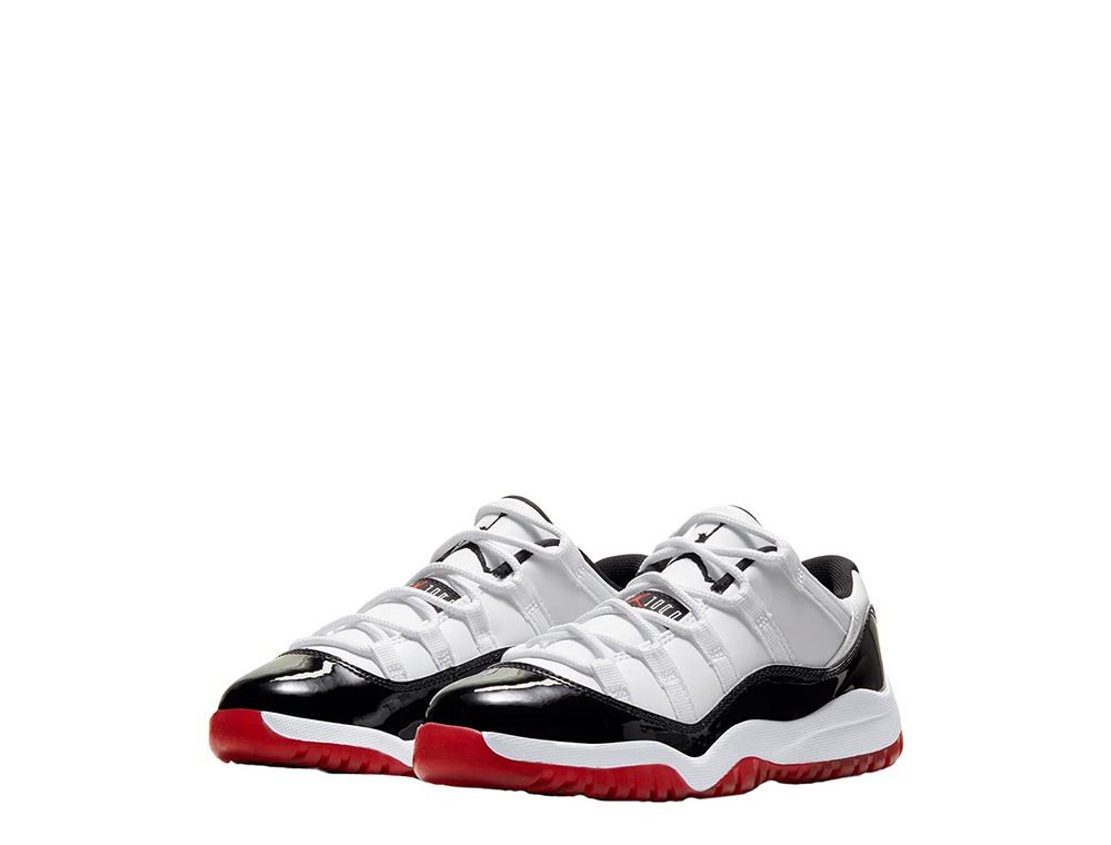 "air jordan 11 retro low (ps) ""concord bred"" (505835-160)"