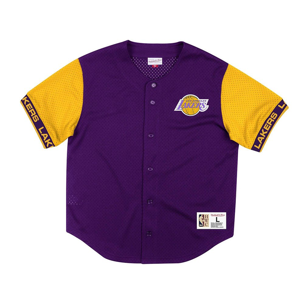 mitchell & ness shooter los angeles lakers (msbfaj19017-lalpurp)