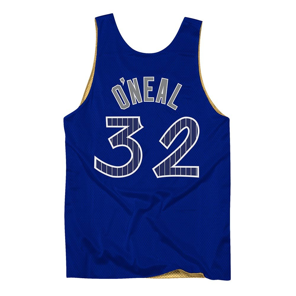 mitchell & ness tank top orlando magic all star shaquille o'neal #32 (msrvmi19003-omarygd9)