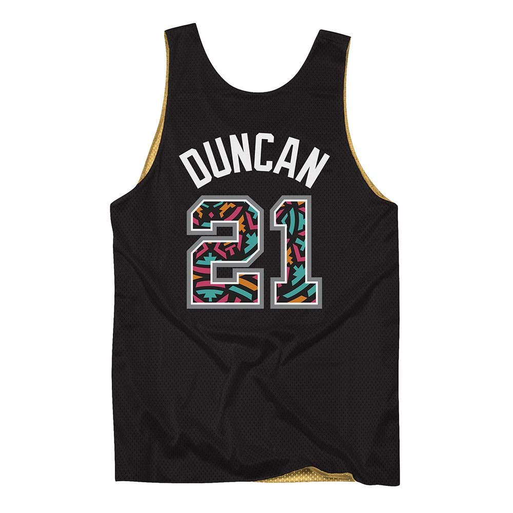 mitchell & ness tank top san antonio spurs all star tim duncan #21 (msrvmi19003-sasbkgd0)