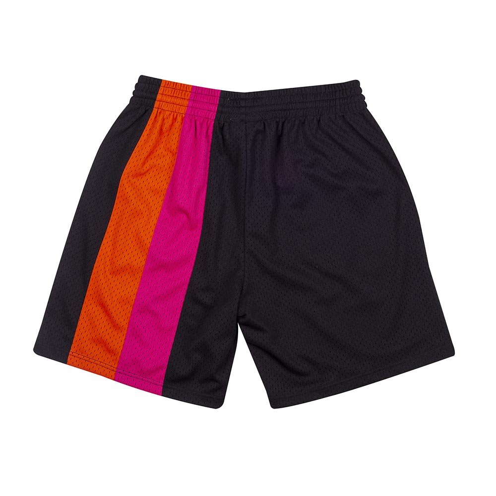 mitchell & ness shorts team miami heat  (smshcp19231-mheblck0)