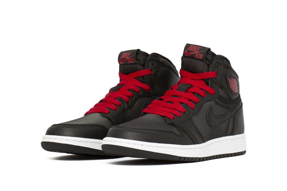 "jordan brand (gs) air jordan 1 retro high og ""black satin"" (575441-060)"