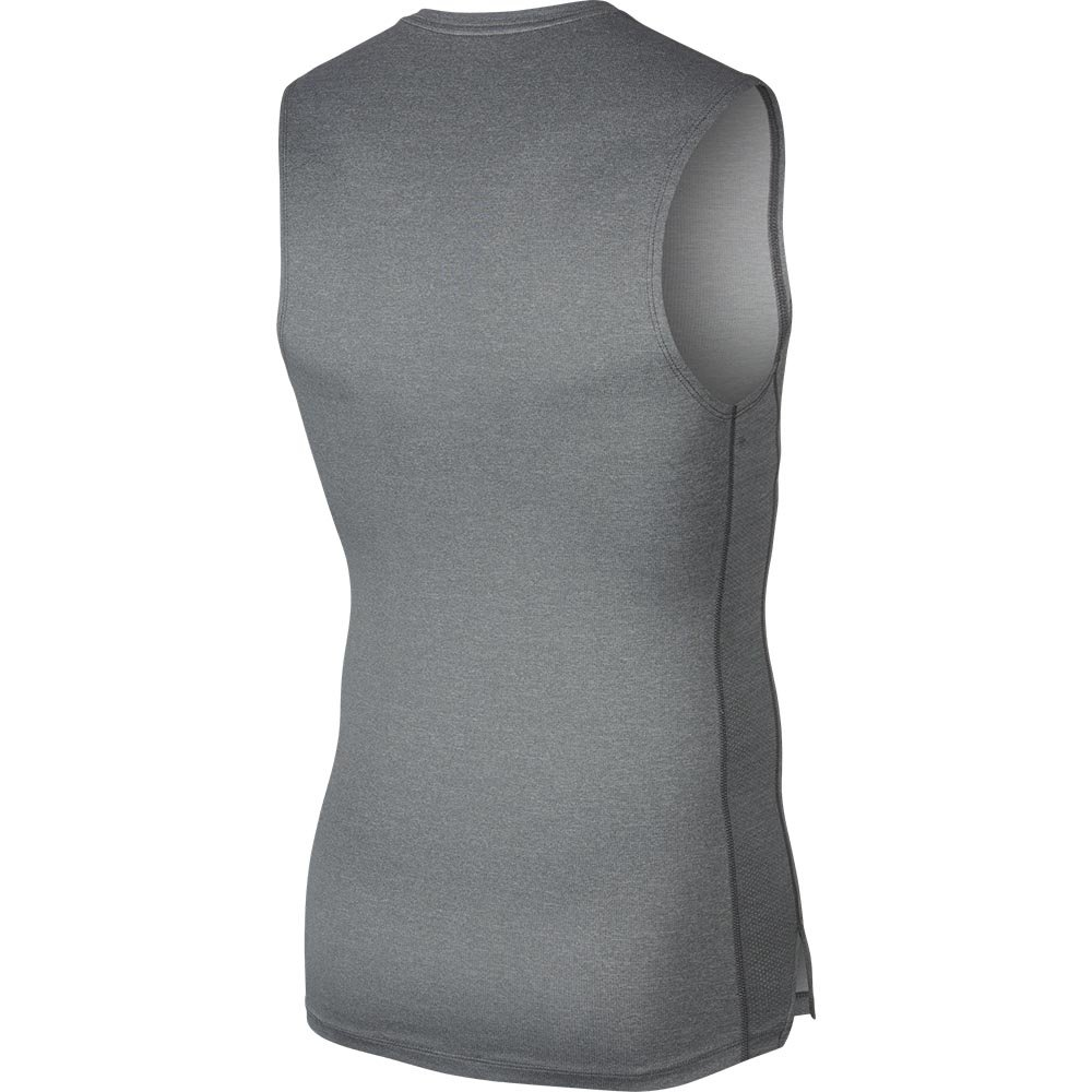 nike pro sleeveless top męska szara