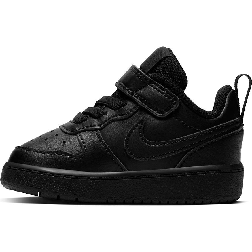 nike court borough low 2 (tdv) czarne