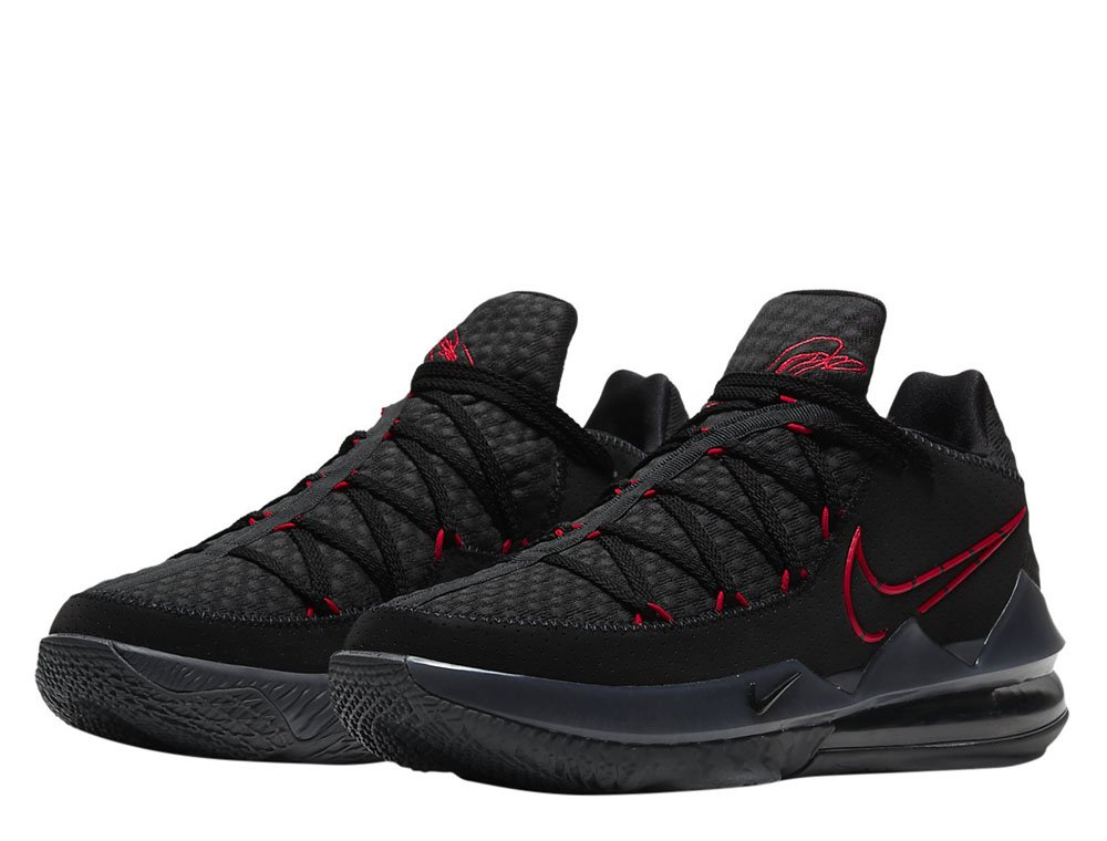 "nike lebron xvii low ""bred"" (cd5007-001)"