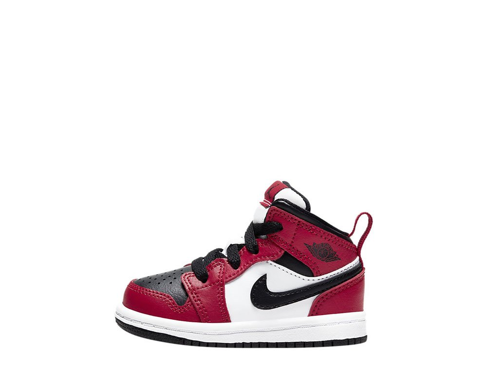 "air jordan 1 mid (td) ""chicago black toe"" (640735-069)"