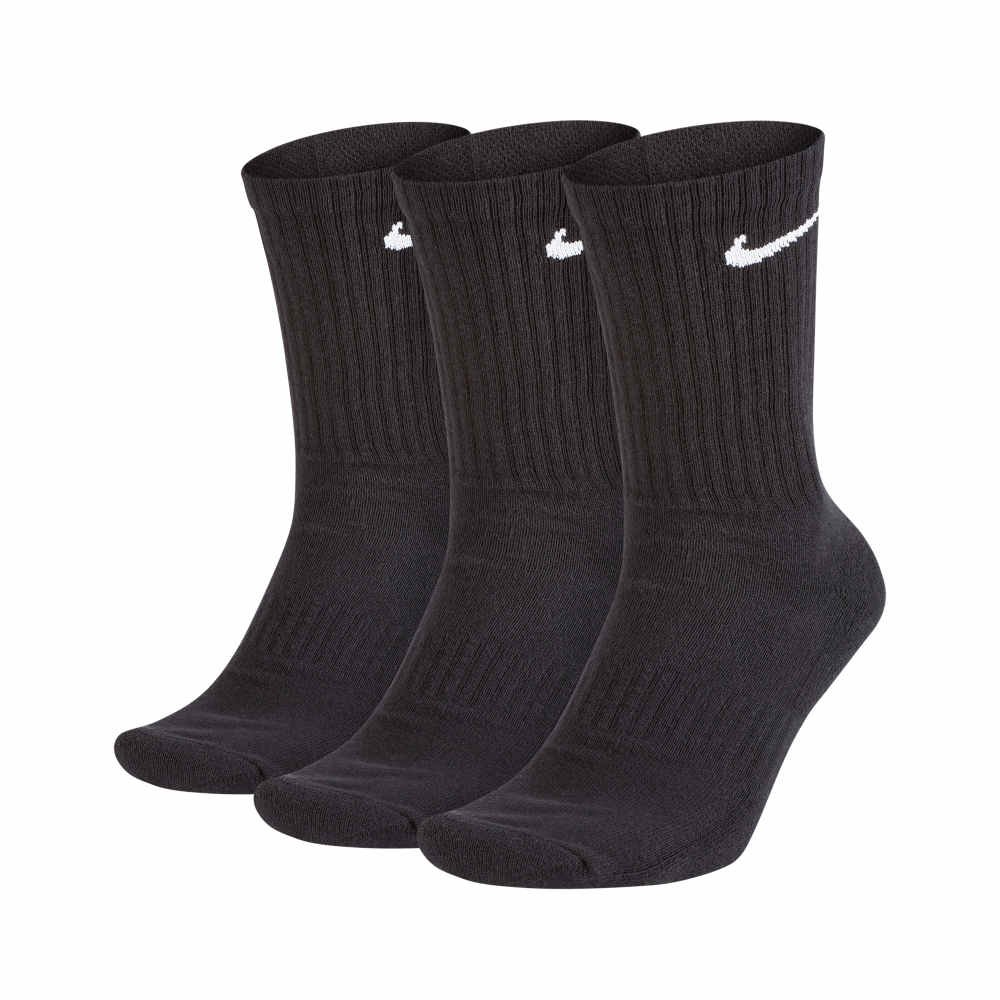 nike everyday cushioned crew 3pack (sx7664-010)