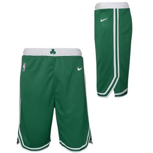 nike nba boston celtics swingman road short junior (6z2b7babz-cel)