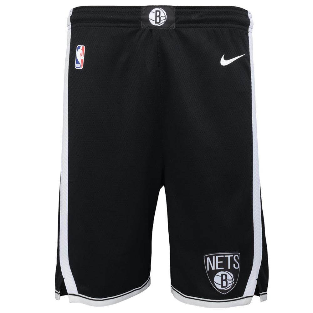 nike nba brooklyn nets swingman road short junior (ez2b7babz-nyn)