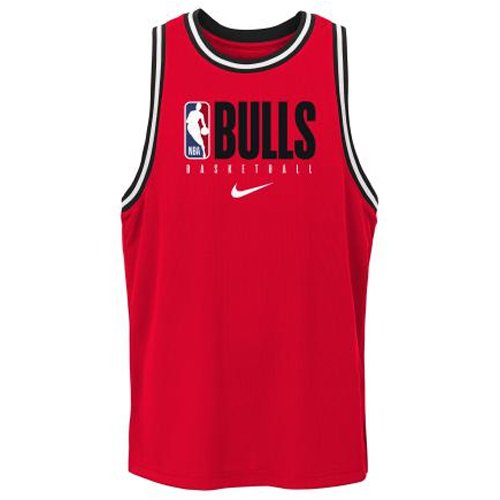 nike nba chicago bulls dri-fit tank university red junior (2z2b7bbxs-bul)