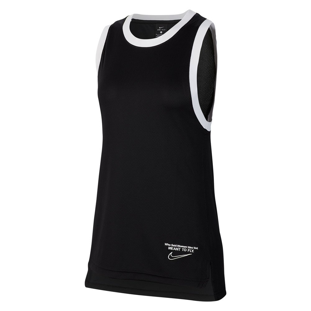 nike dri-fit  sleeveless top women's (bv9237-010)