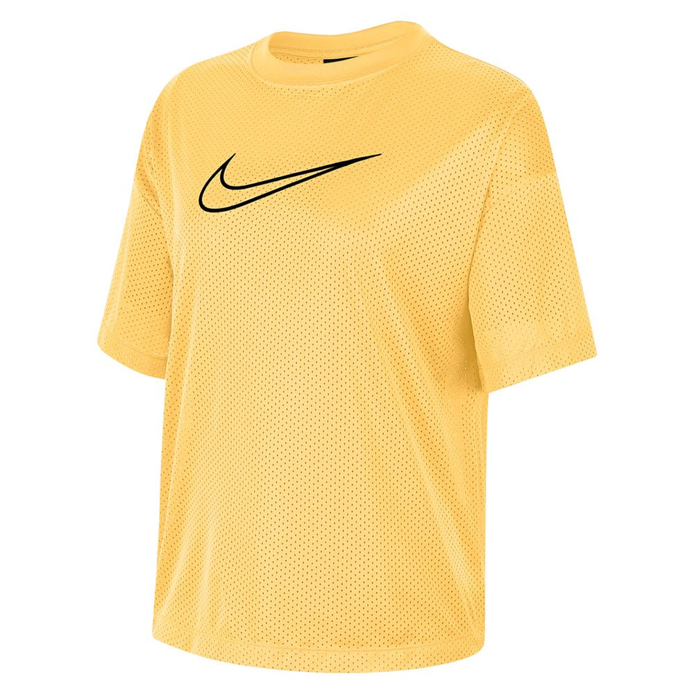 nike sportswear women's short-sleeve mesh top (ck1456-795)