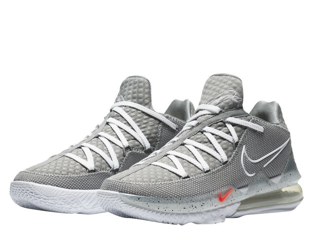"nike lebron xvii low ""particle grey"" (cd5007-004)"