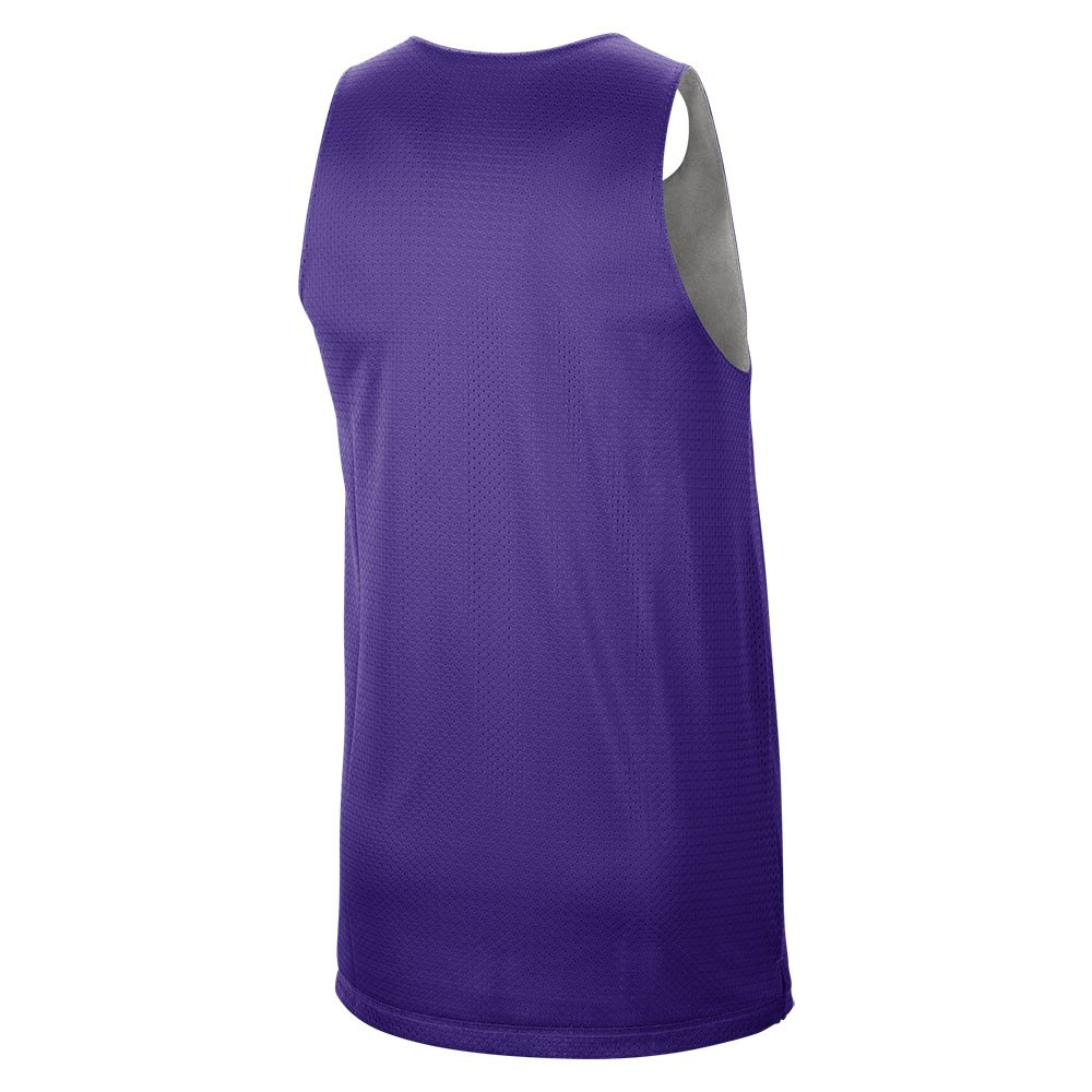 nike los angeles lakers reversible tank  standard issue courtside (cn0716-504)