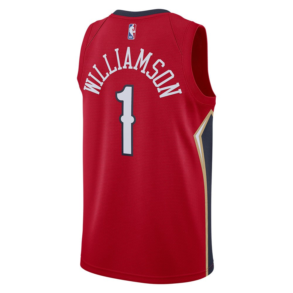 jordan nba swingman jersey zion williamson #1 pelicans statement edition 2020  (cv9486-660)