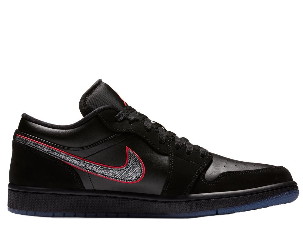 "air jordan 1 low ""black red orbit"" (ck3022-006)"