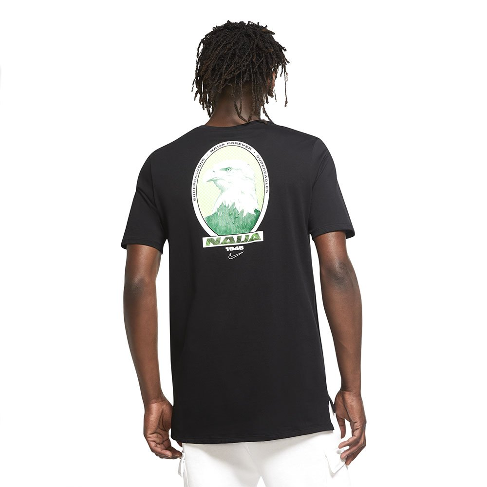 nike nigeria men's soccer t-shirt (ct1944-010)