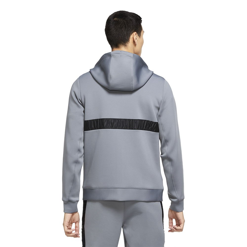 jordan air men's fleece full-zip hoodie (ck6446-078)