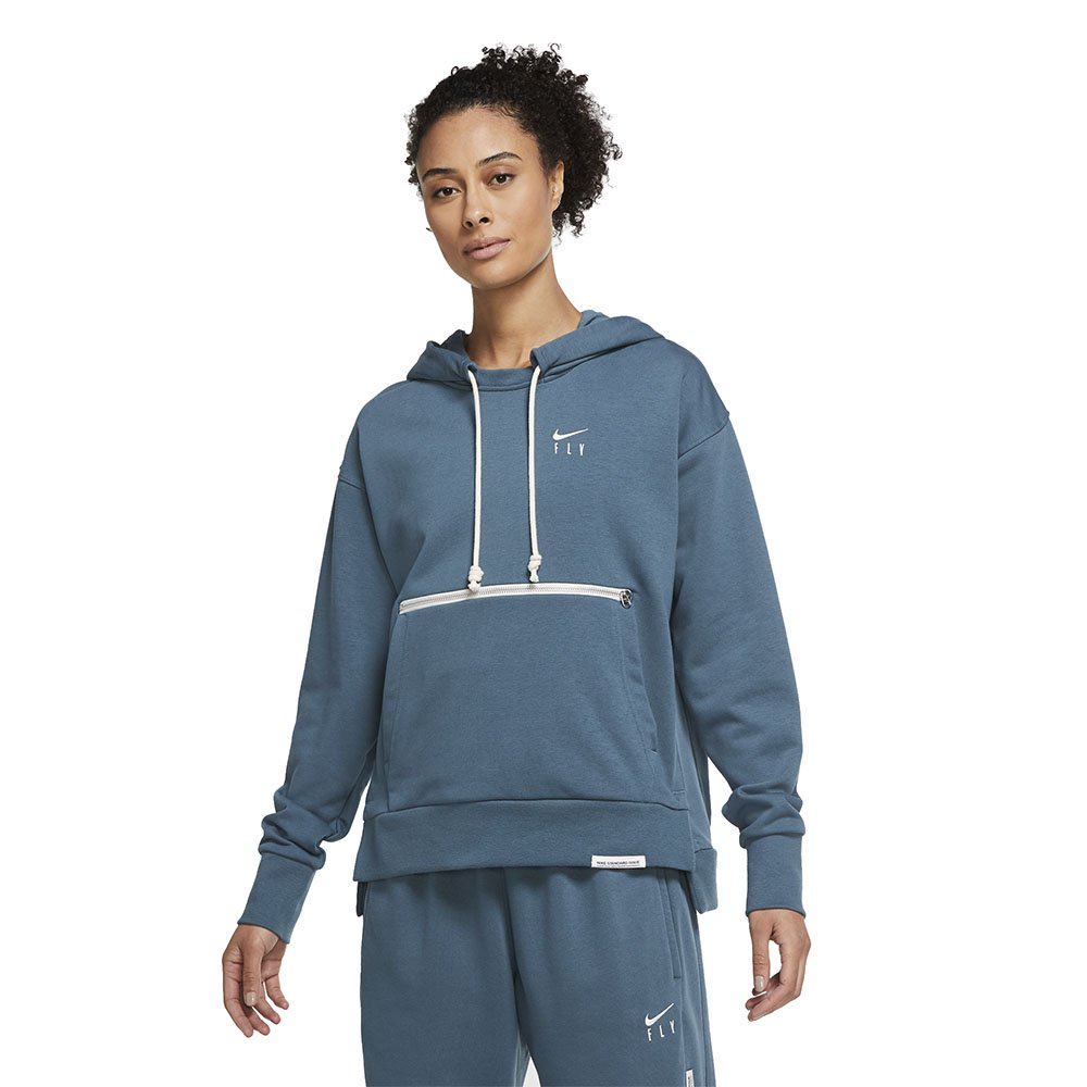 nike swoosh fly standard issue women's basketball pullover hoodie (cu3479-058)