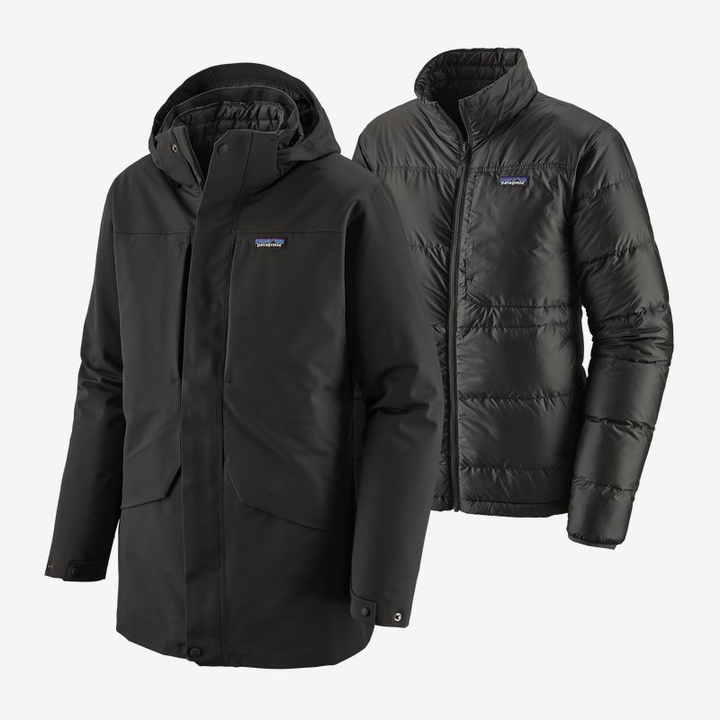 patagonia men's tres 3-in-1 parka (28388-blk)