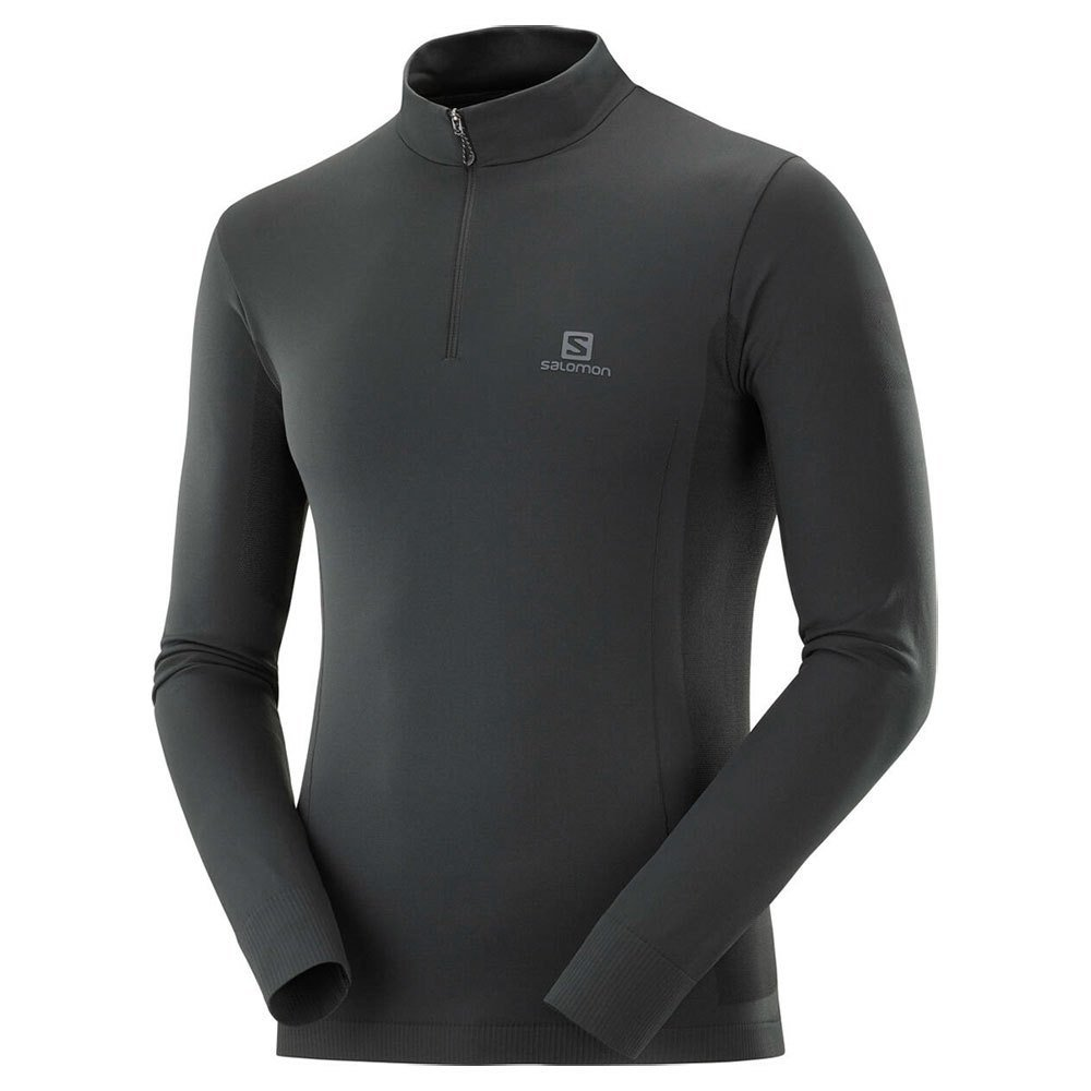 salomon explore seamless half zip m czarna