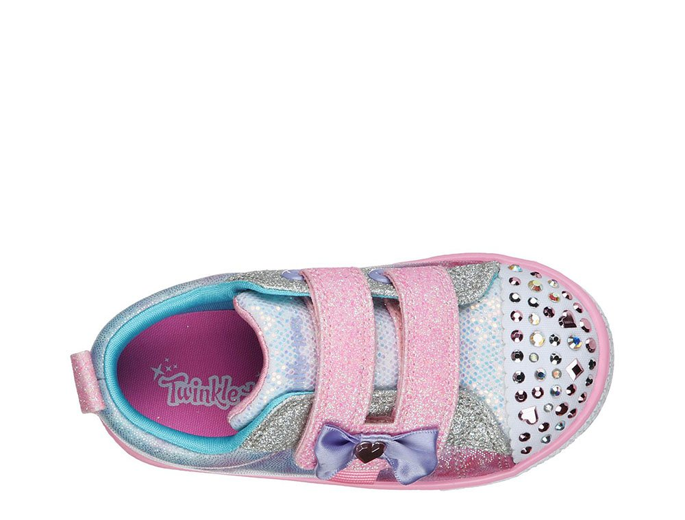 skechers shuffle lites - sweet supply dziecięce multikolor