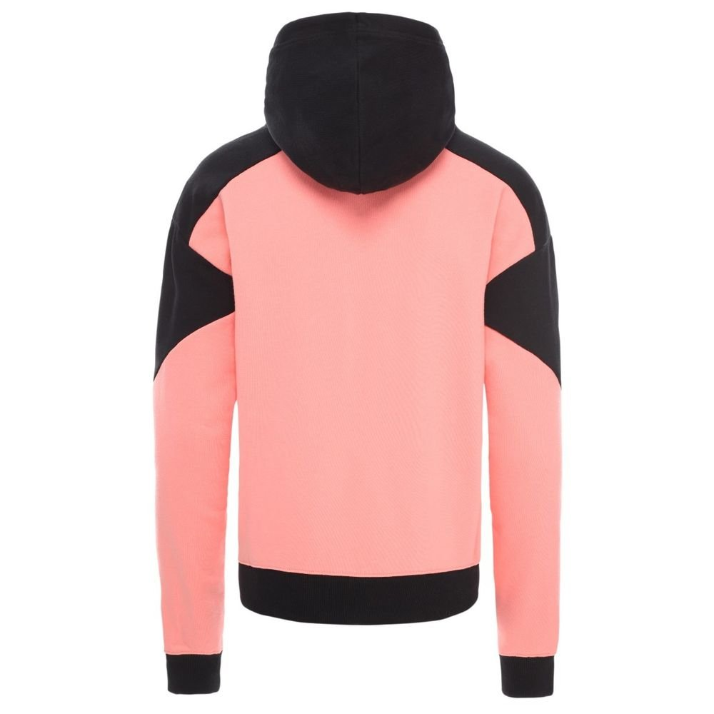 the north face extreme cropped pullover hoodie (nf0a4au3pn0)