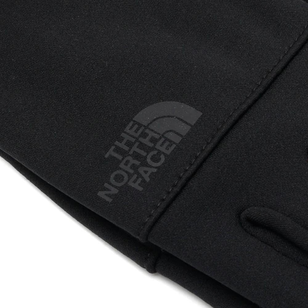 the north face etip recycled glove czarne