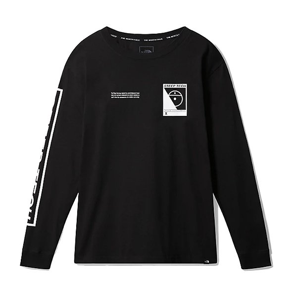 the north face l/s steep tech (nf0a3ycrjk3)