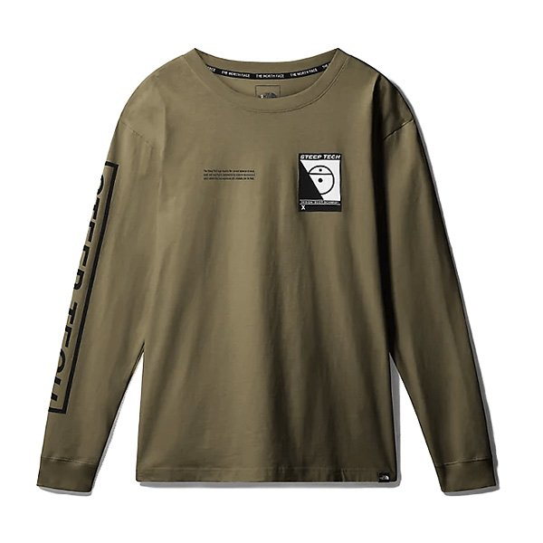 the north face steep tech l/s (nf0a3ycr7d6)