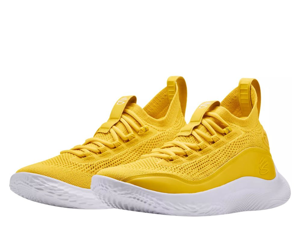 """under armour curry flow 8 """"yellow"""""""
