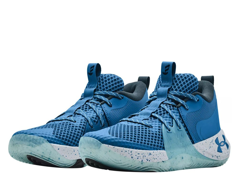 """under armour embiid one """"light blue"""""""