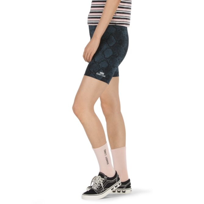 vans x sandy liang mimi bike short (vn0a4mx5m0n)