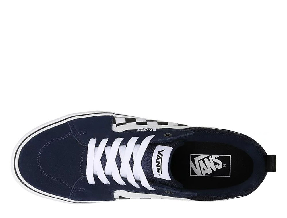 vans mn filmore decon (checkerboard) granatowe