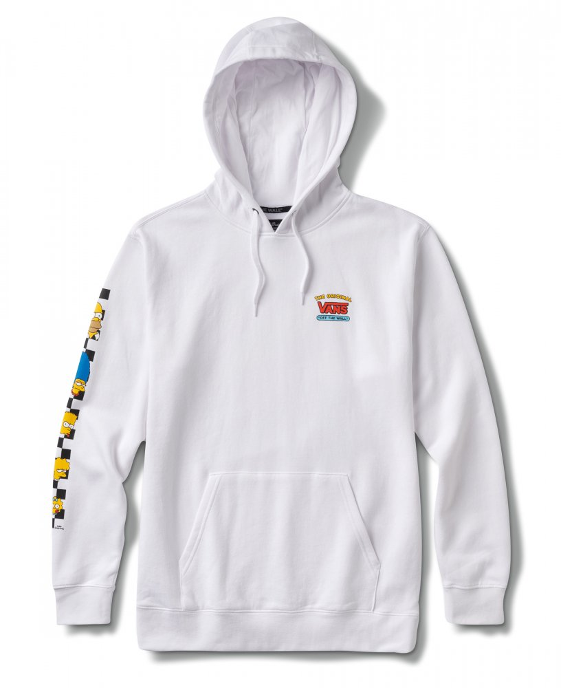 vans x the simpsons pullover hoodie (vn0a4rtpzzz)