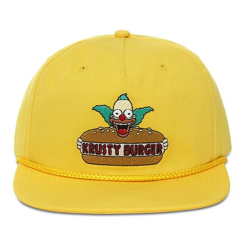 vans x the simpsons hat (vn0a4tqezw3)
