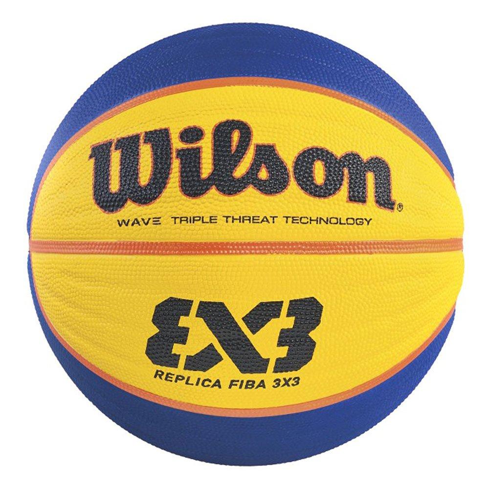 wilson fiba 3x3 game basketball replika (wtb1033xb)