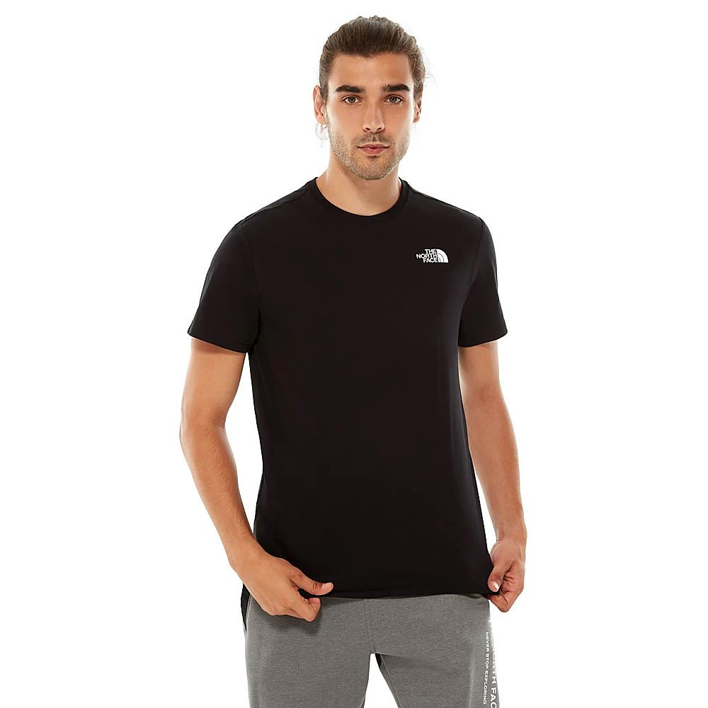 the north face t-shirt redbox męska czarna