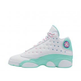 "air jordan 13 (gs) ""aurora green"" (439358‑100)"