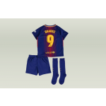 komplet nike fc barcelona little kid 17/18 h (847355-456)