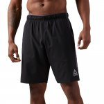 reebok woven performance short black