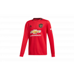 koszulka adidas manchester united 19/20 h ls replica junior (dx8955)