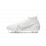 """nike mercurial superfly 7 elite fg """"nuovo white"""" junior (at8034-100)"""